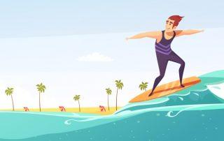 Motivation Surfing
